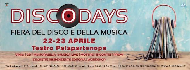 DiscoDays 2017. Annunciate le prime iniziative della XVIII edizione della famosa fiera del vinile e della musica di Napoli.