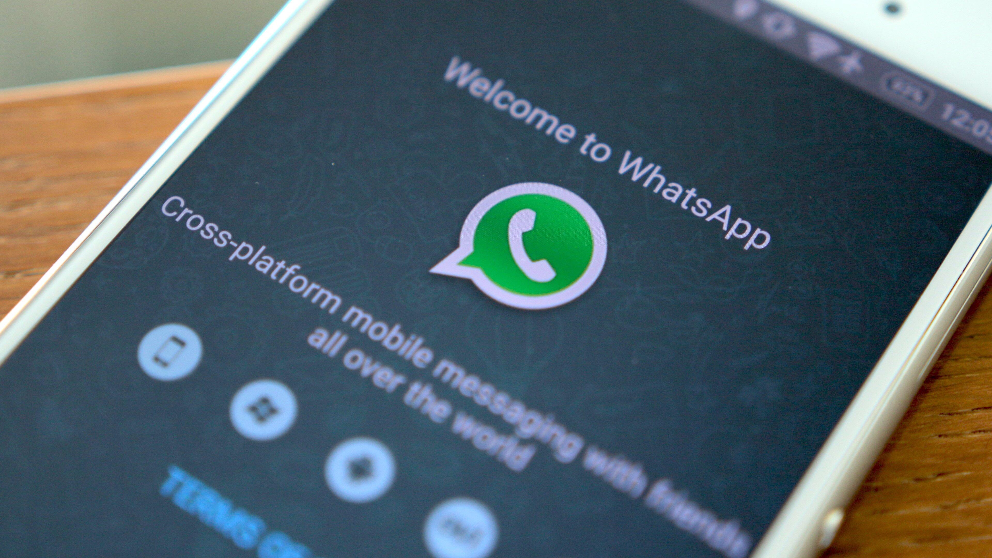"""""""Abbiamo sbagliato, SCUSATECI"""" dal team di Whatsapp."""