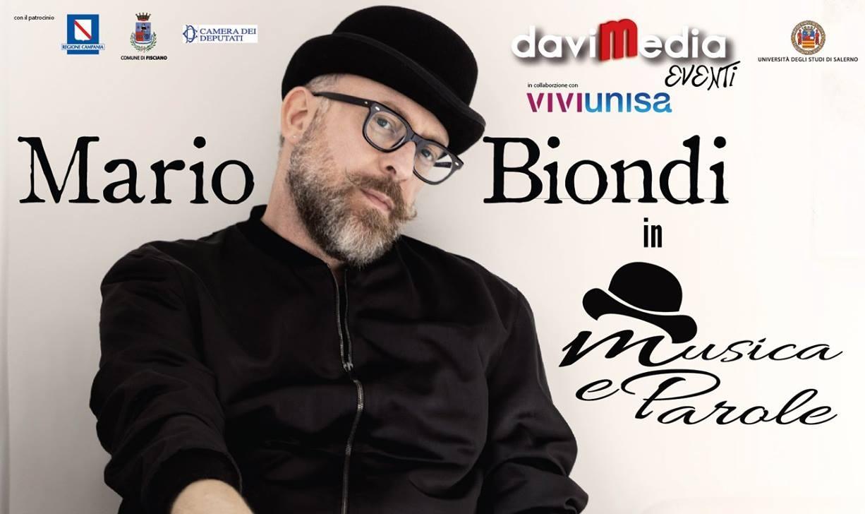 Mario Biondi prossimo ospite Davimedia – Il cantante sarà protagonista della rassegna culturale dell'Università degli Studi di Salerno