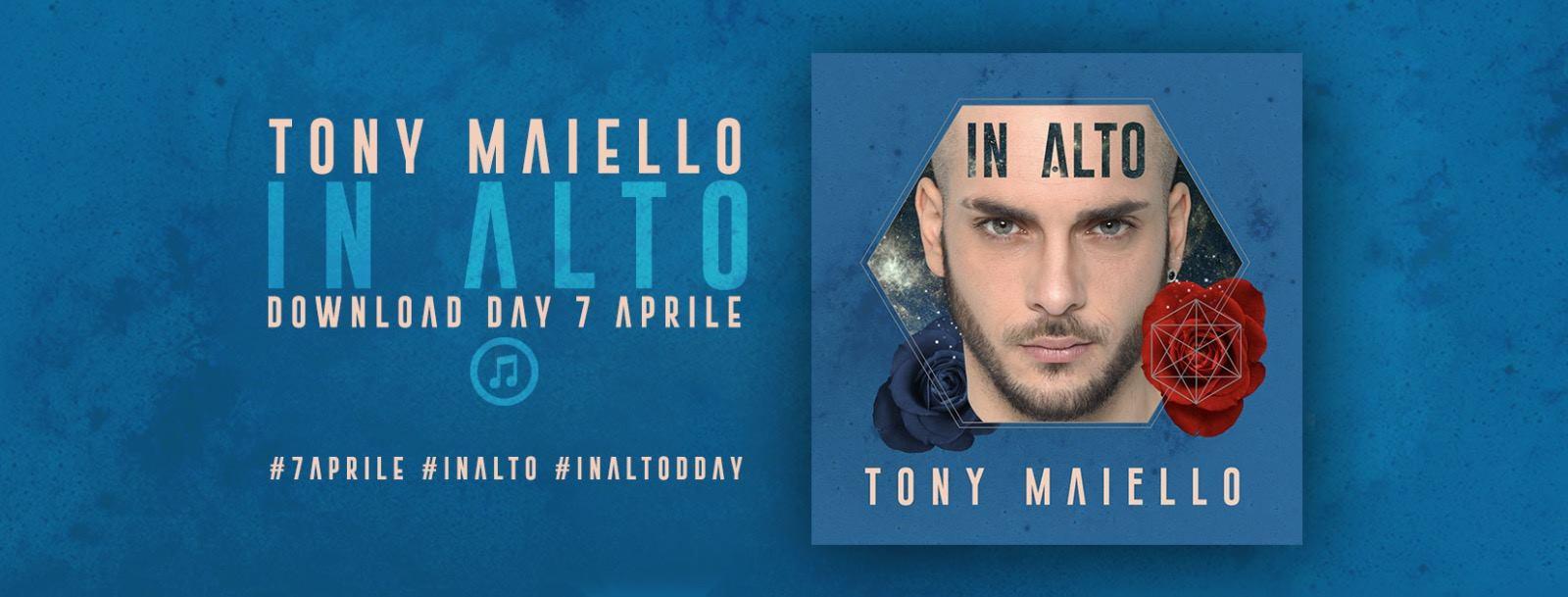 """Tony Maiello, il ritorno con il nuovo singolo """"In Alto"""""""