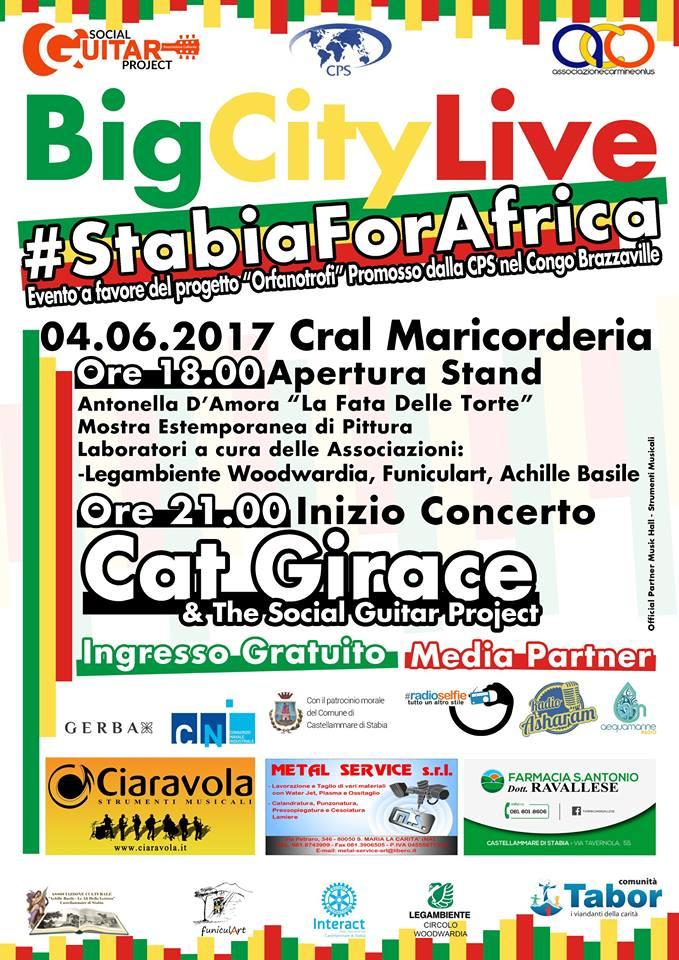 Big City Live – StabiaForAfrica