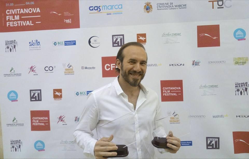 Intervista ad Aldo Iuliano, trionfatore del CFF-Civitanova Film Festival