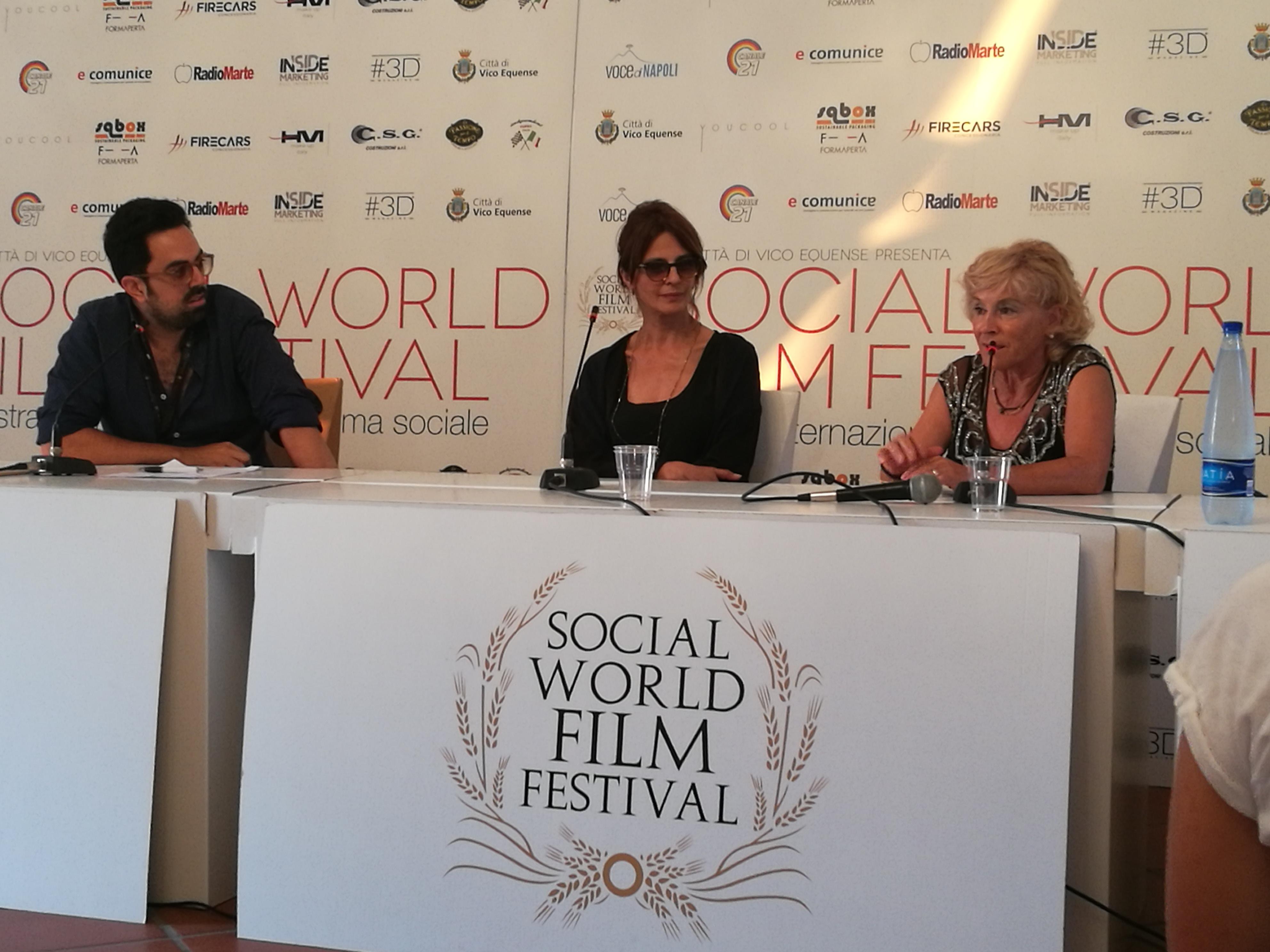 LAURA MORANTE e MIRIAM CANDURRO ospiti al Social Film Festival