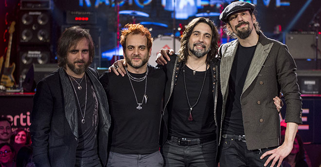 """Le Vibrazioni: dopo l'esclusiva performance al al 68° Festival di Sanremo, dal 6 aprile il singolo """"Così sbagliato feat. Skin"""""""