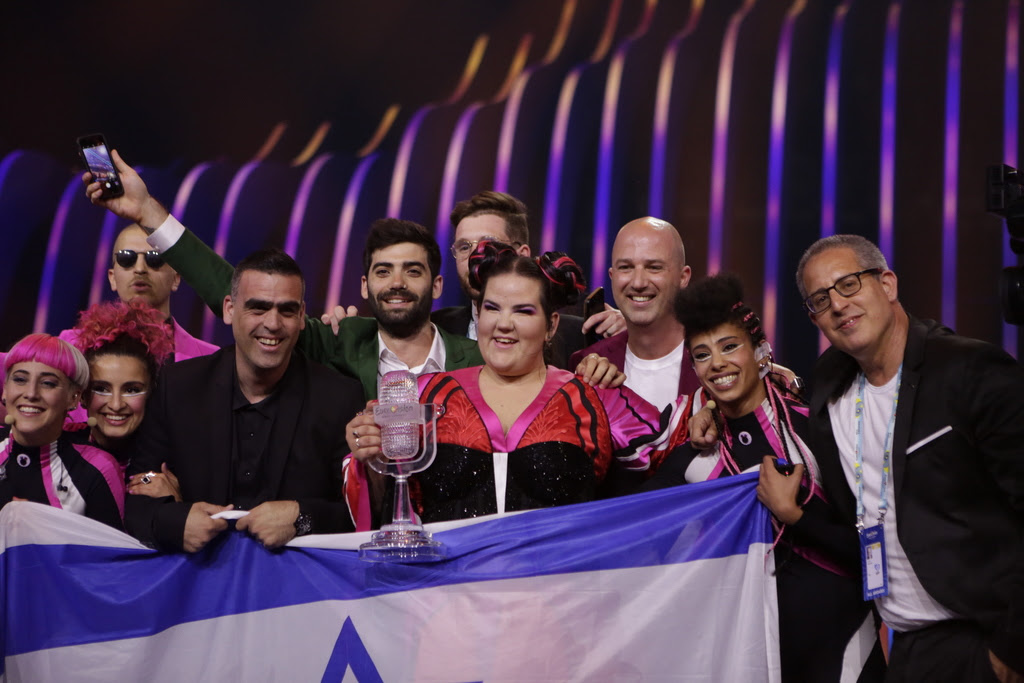 Netta vince l'Eurovision 2018