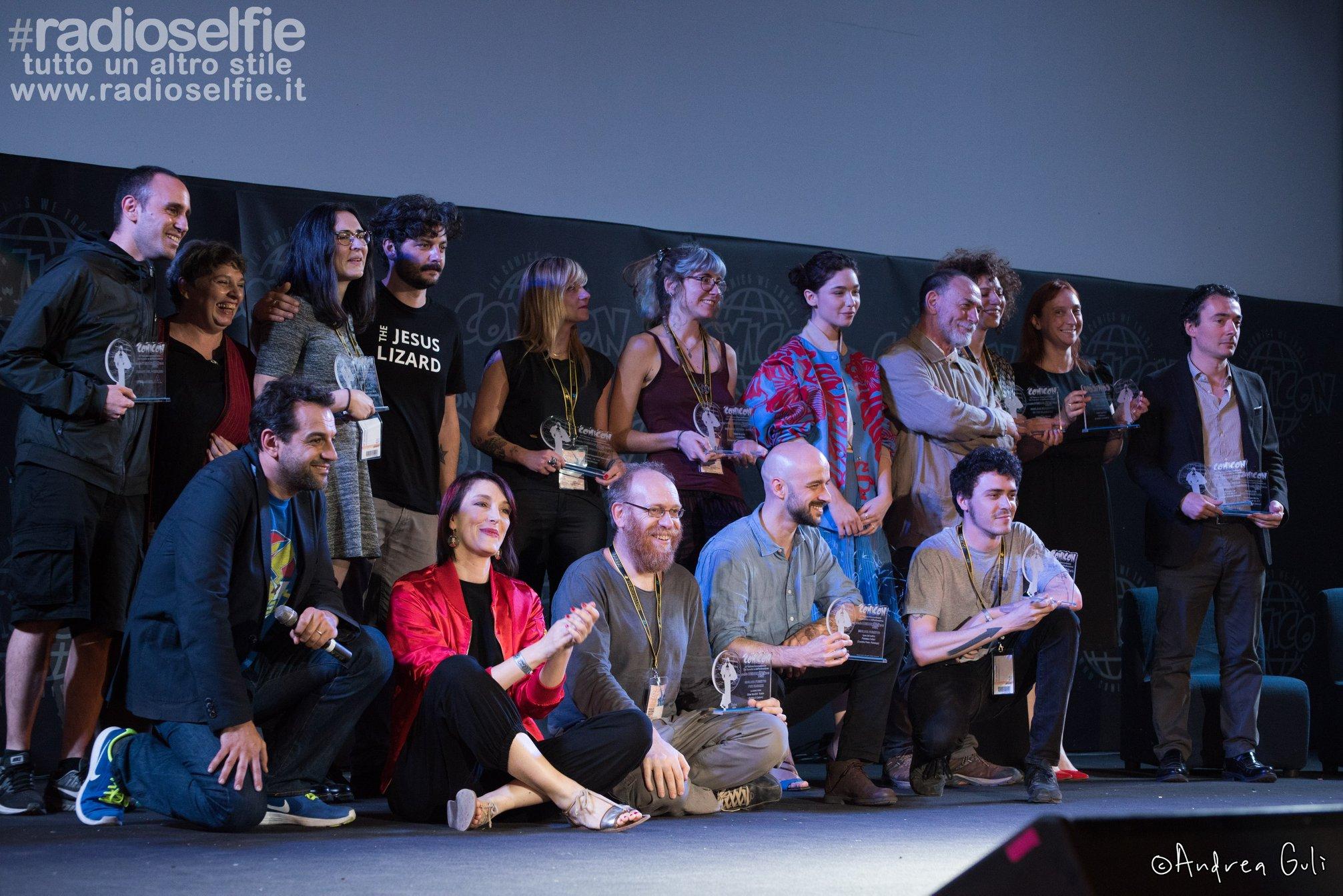 Comicon 2018 – ecco i vincitori del Premio Micheluzzi 2018