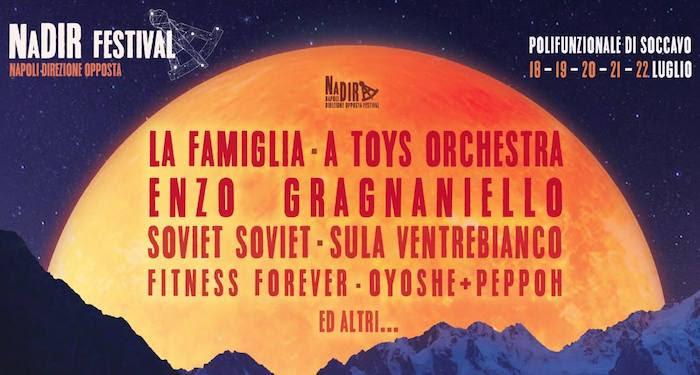 NaDir \ Napoli Direzione Opposta festival IV. A Napoli dal 18 al 22 luglio la cultura per il sociale