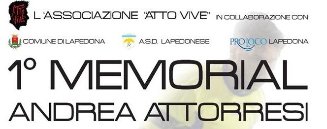 Primo Memorial Andrea Attoresi